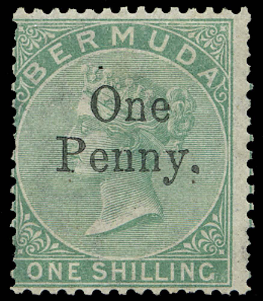 BERMUDA 1875  SG17 Mint