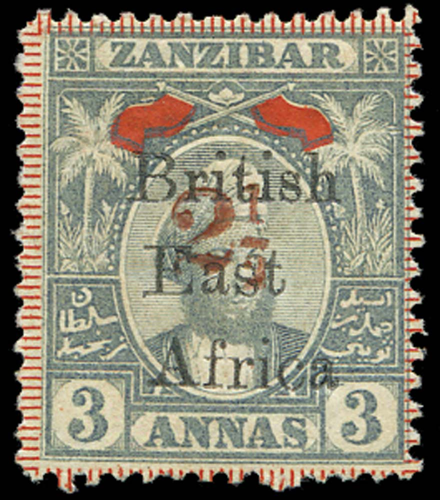 BRITISH EAST AFRICA 1897  SG91 Mint