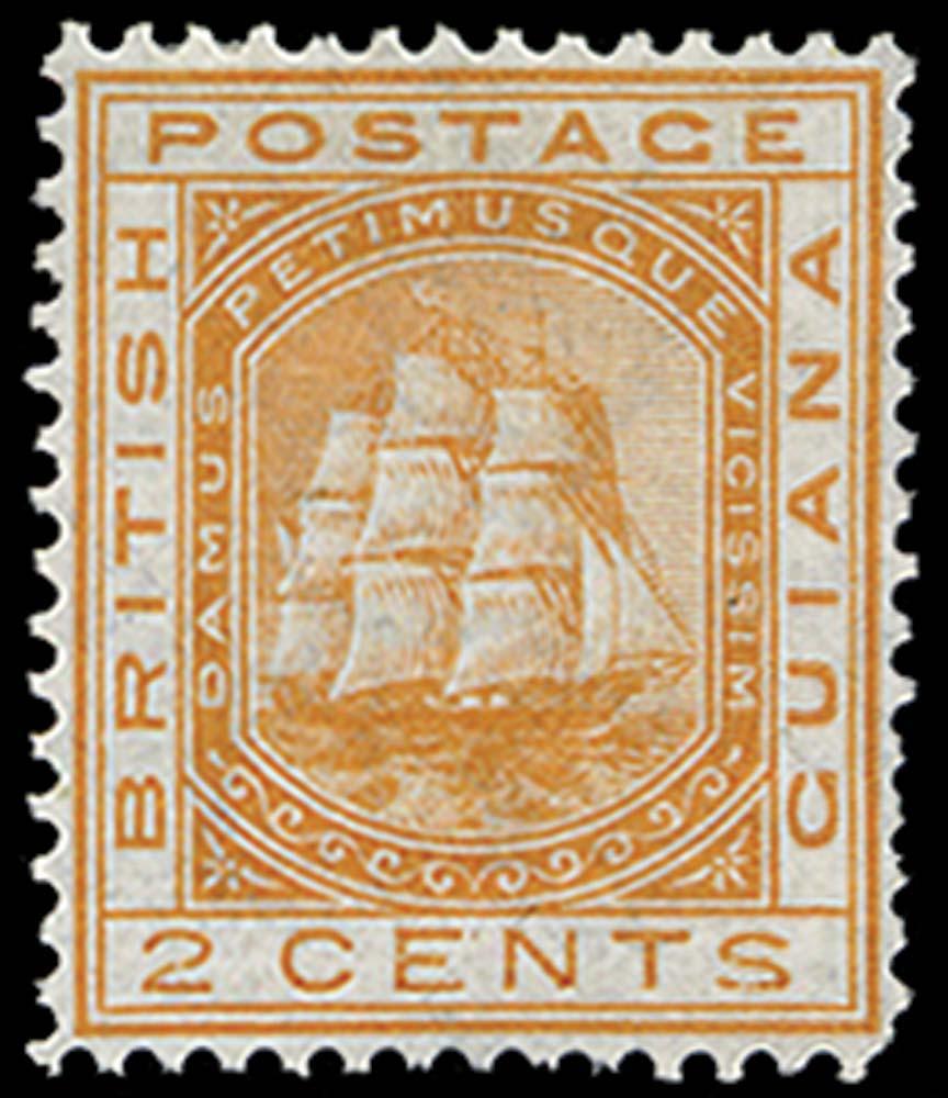 BRITISH GUIANA 1876  SG127 Mint