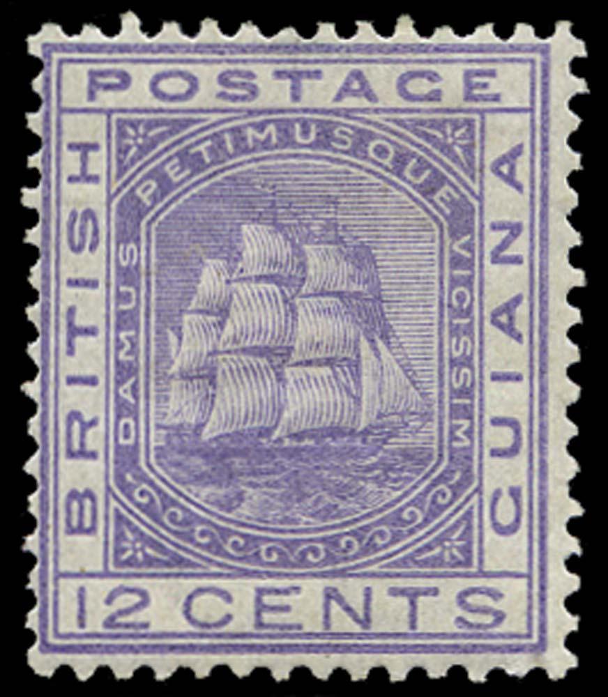 BRITISH GUIANA 1876  SG131 Mint