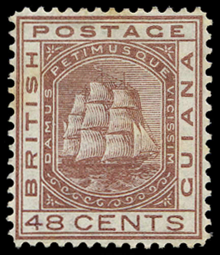 BRITISH GUIANA 1876  SG133 Mint