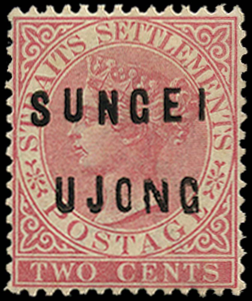 MALAYA - S. UJONG 1882  SG21 Mint