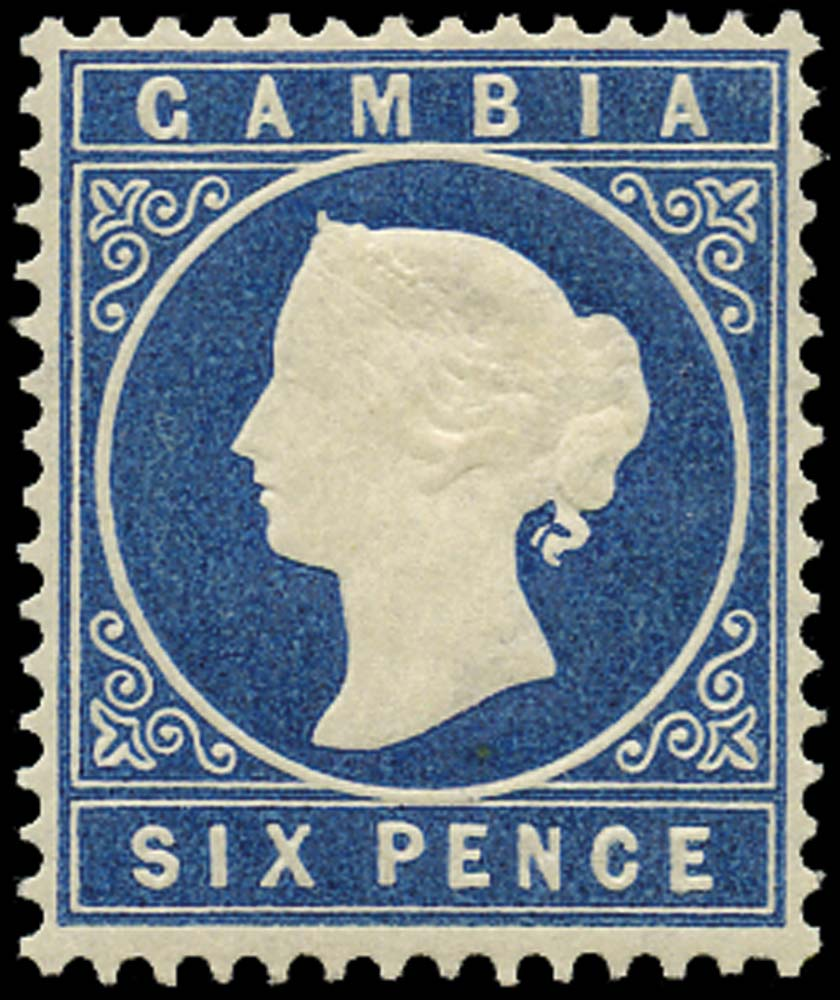 GAMBIA 1880  SG17B Mint