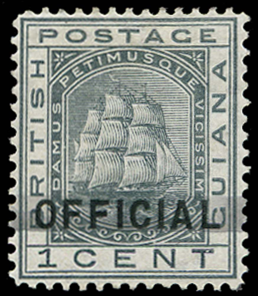 BRITISH GUIANA 1878  SG139 Mint