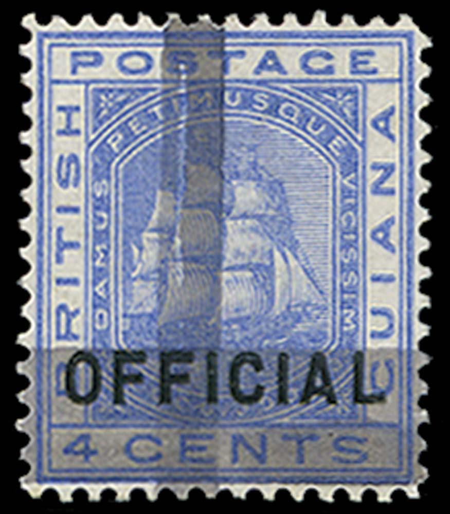 BRITISH GUIANA 1878  SG144 Mint