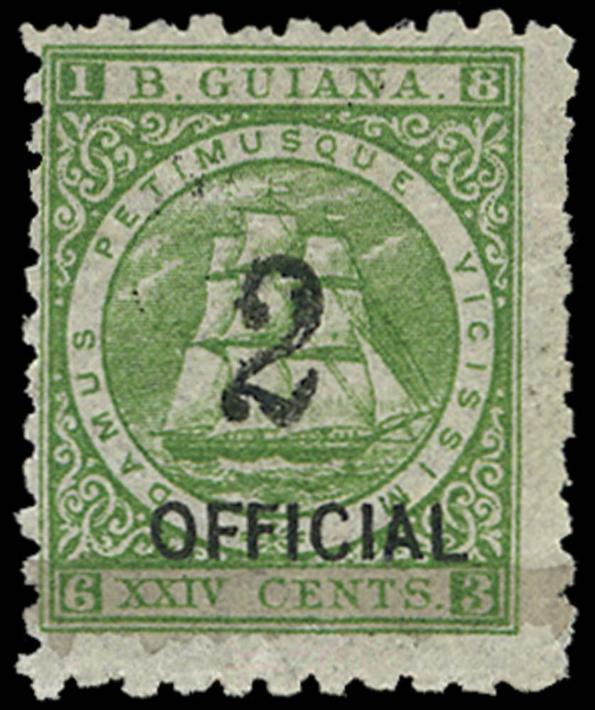 BRITISH GUIANA 1881  SG159 Mint