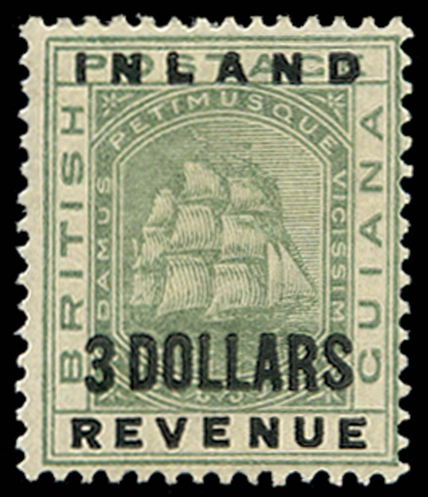 BRITISH GUIANA 1888  SG187 Mint