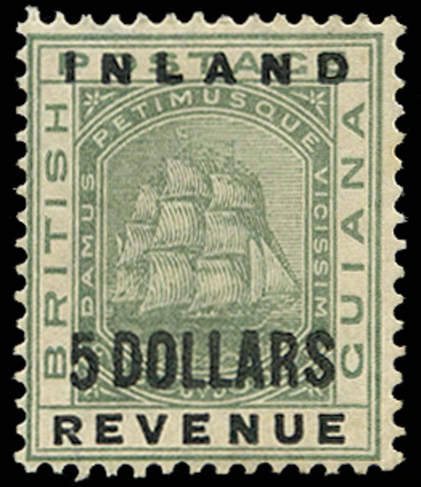 BRITISH GUIANA 1888  SG189 Mint