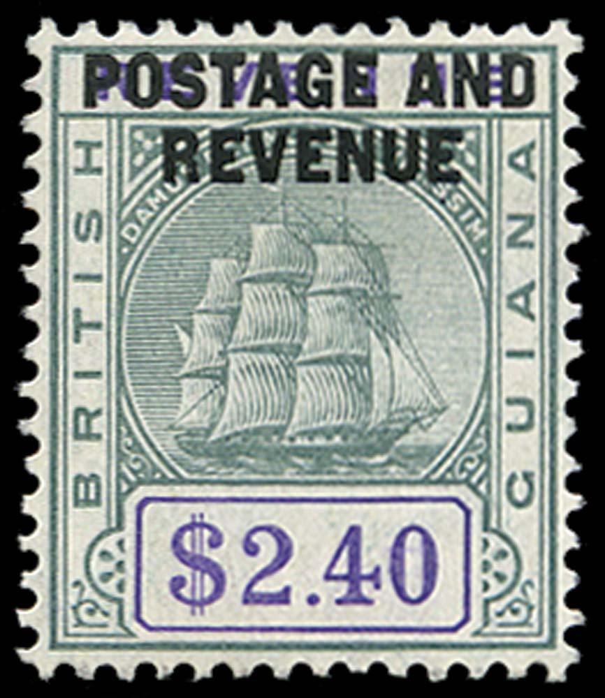 BRITISH GUIANA 1905  SG251 Mint