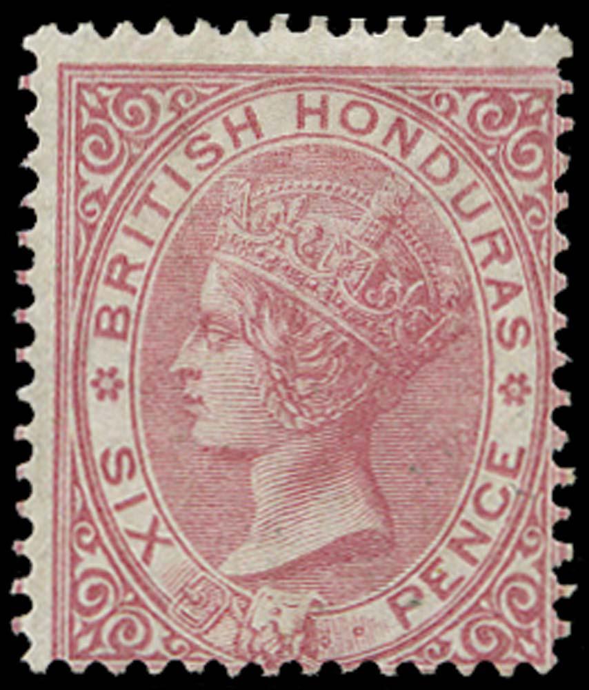 BRITISH HONDURAS 1865  SG3 Mint