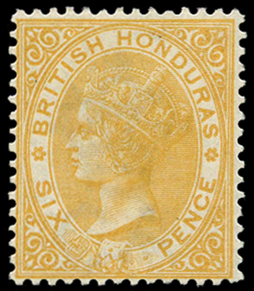 BRITISH HONDURAS 1882  SG21 Mint