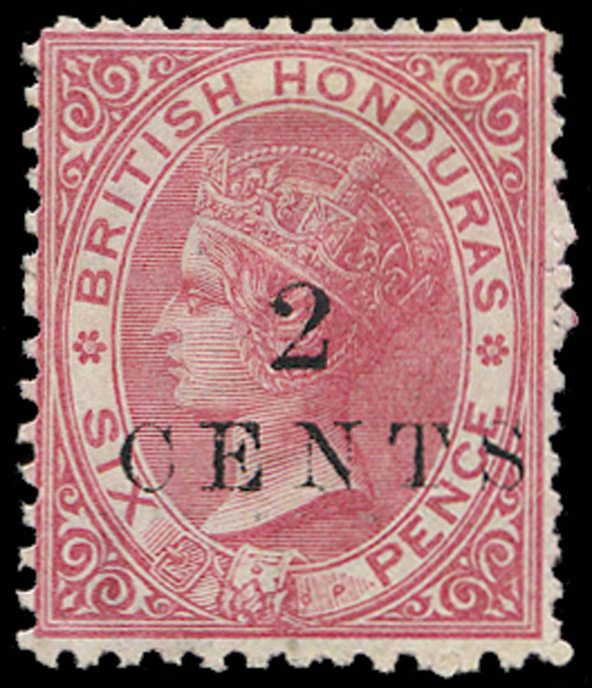 BRITISH HONDURAS 1888  SG23 Mint