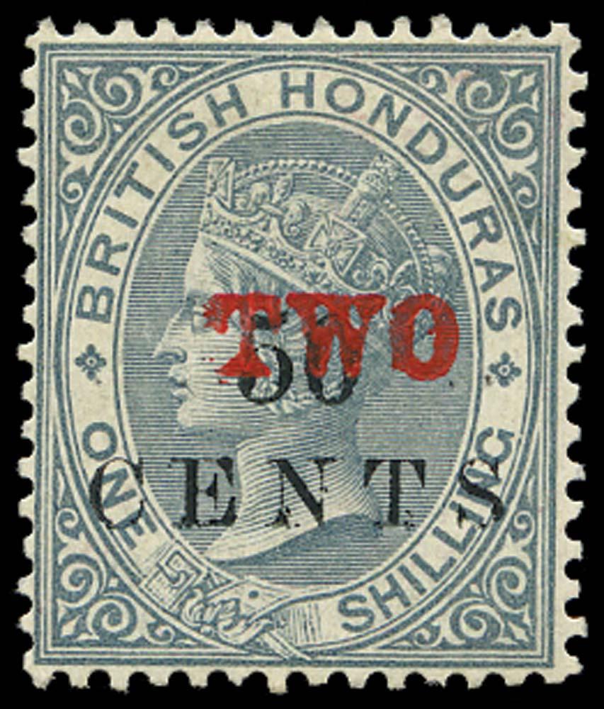 BRITISH HONDURAS 1888  SG35 Mint