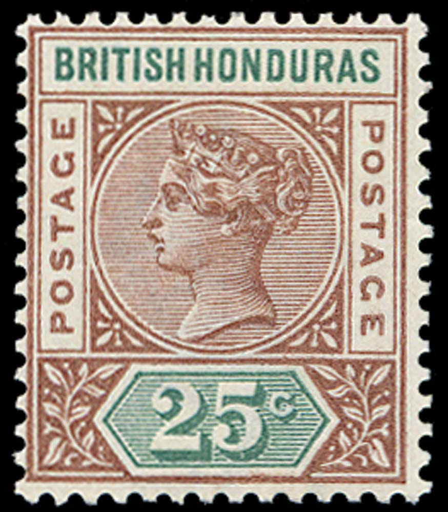 BRITISH HONDURAS 1891  SG61 Mint
