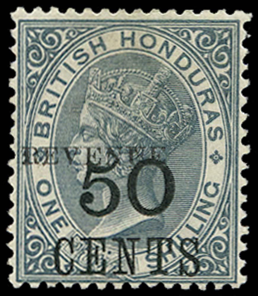 BRITISH HONDURAS 1899  SG69 Mint