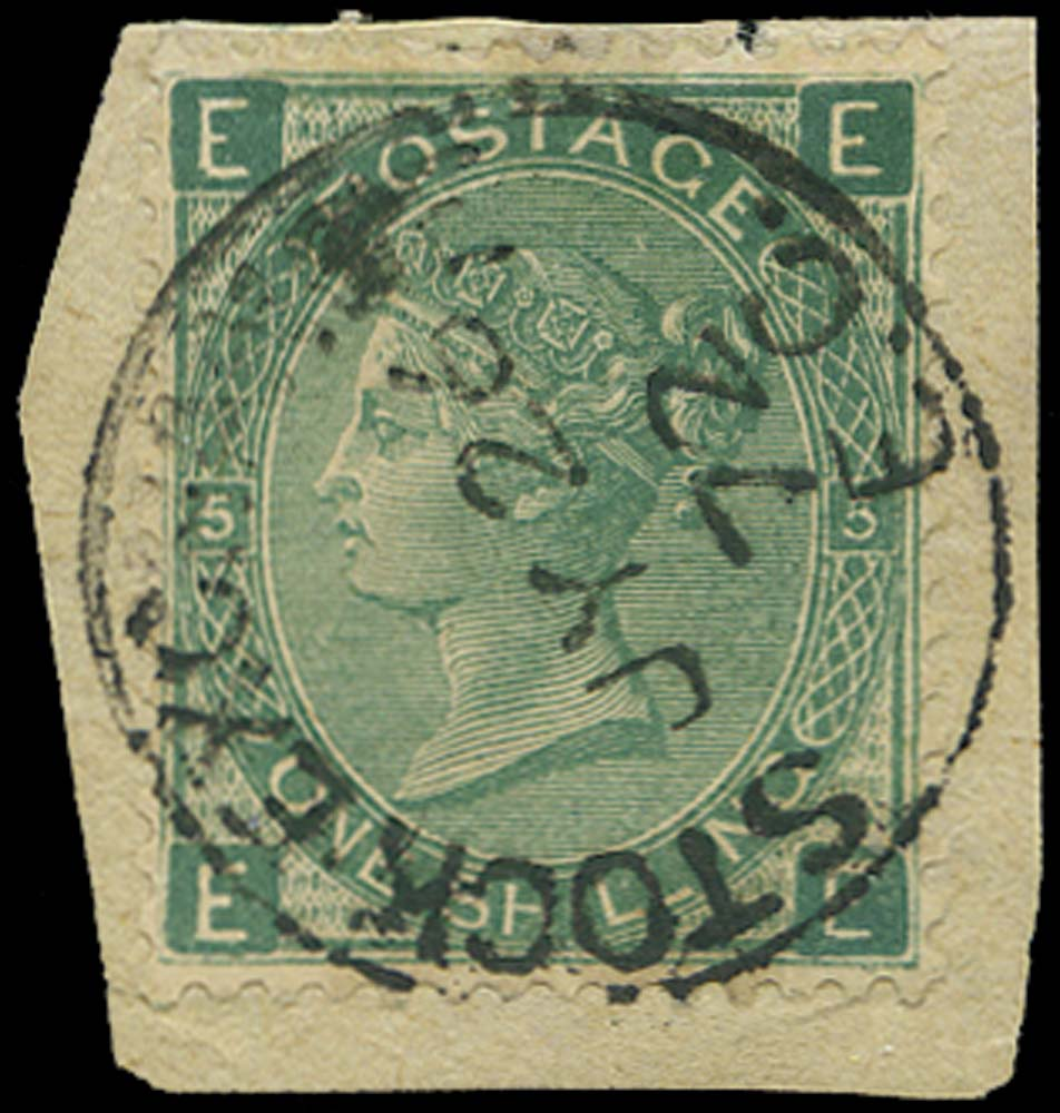 GB 1872  SG117VAR Pl.5 Forgery