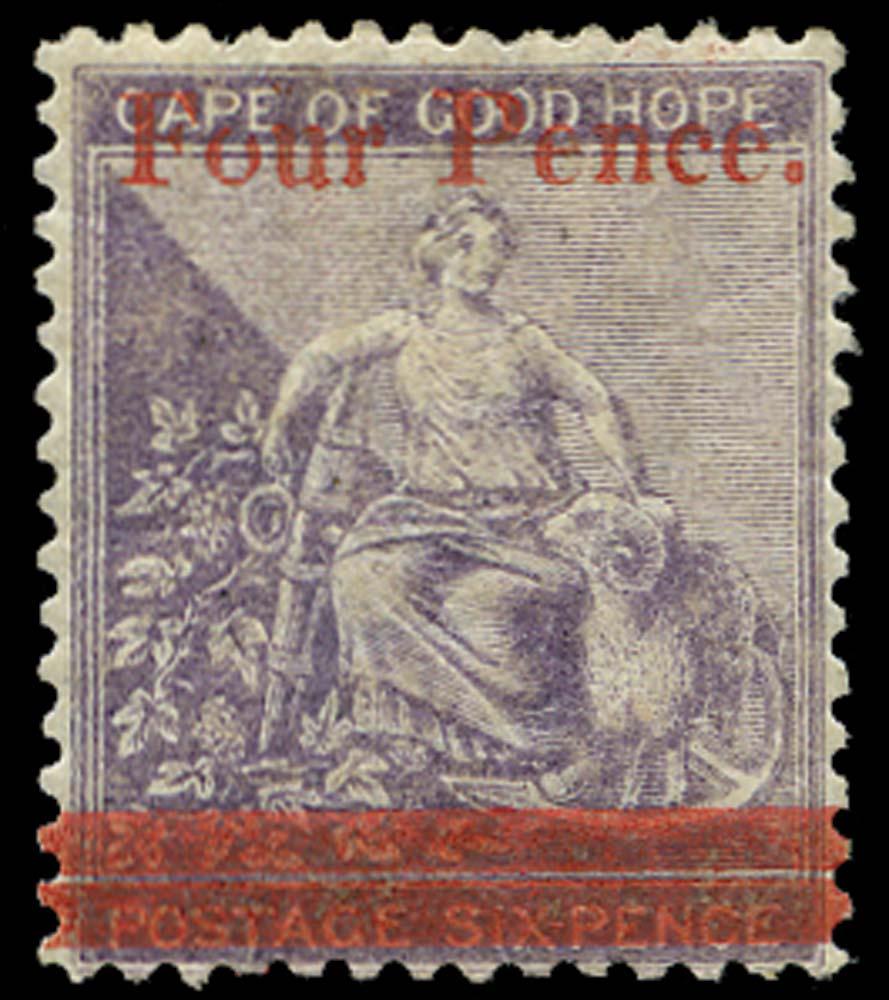 CAPE OF GOOD HOPE 1868  SG27 Mint