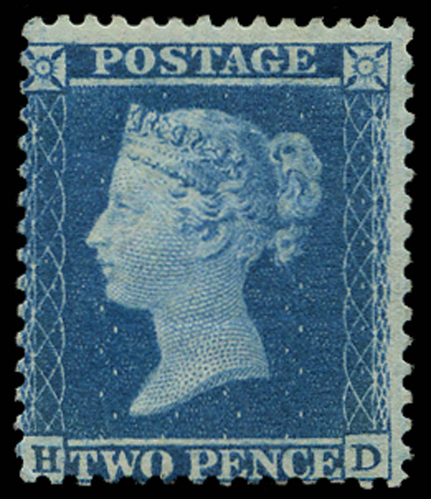 GB 1855  SG34 Pl.5 Mint unused o.g. example