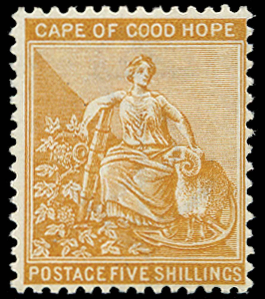 CAPE OF GOOD HOPE 1884  SG54 Mint