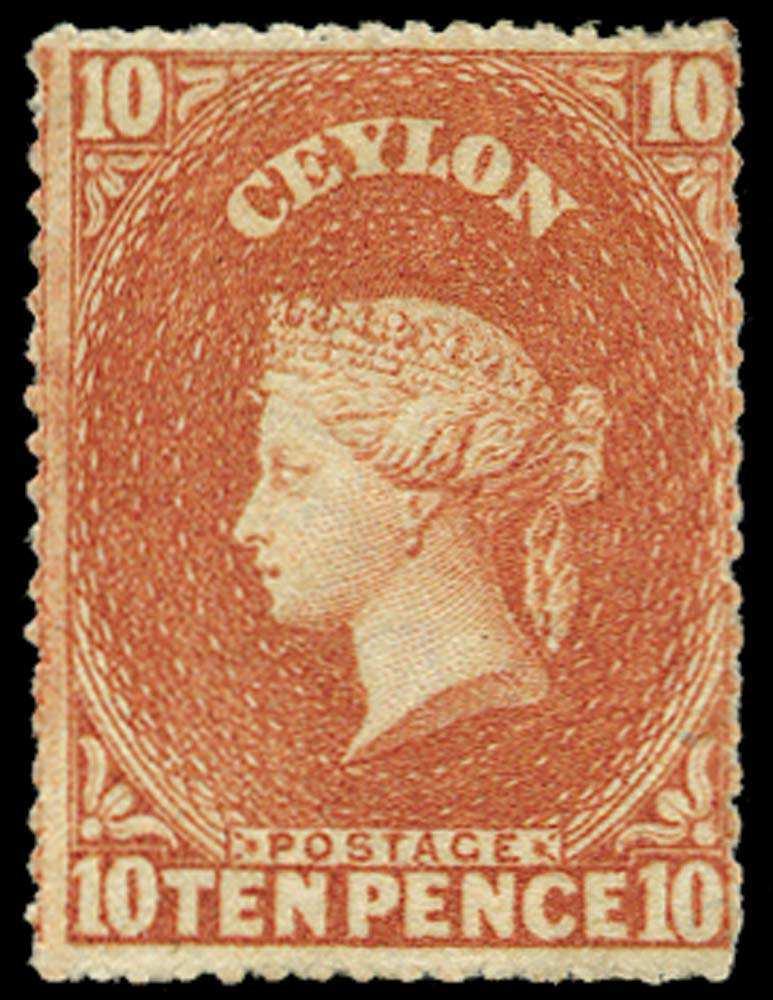 CEYLON 1861  SG34 Mint