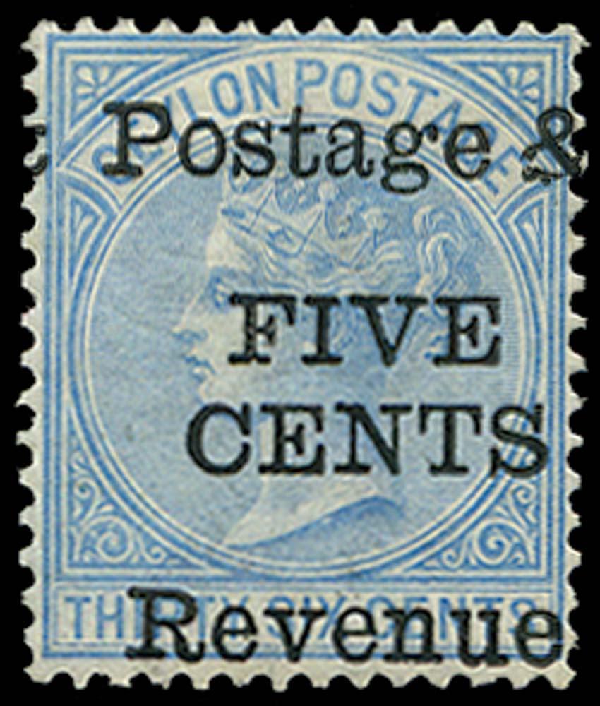 CEYLON 1885  SG156 Mint