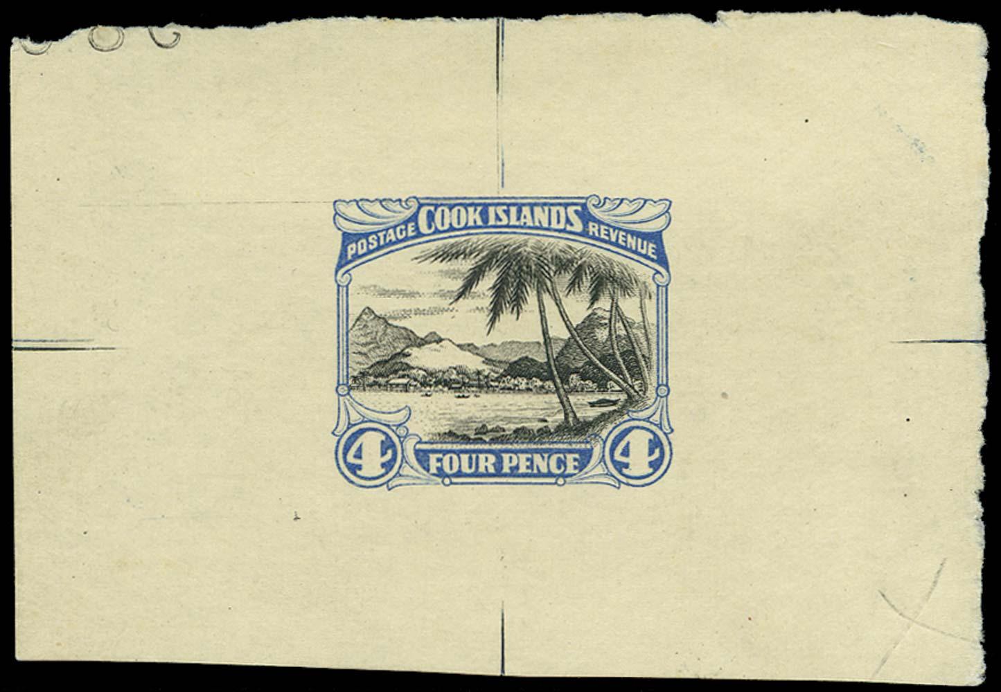 COOK ISLANDS 1932  SG103 Proof
