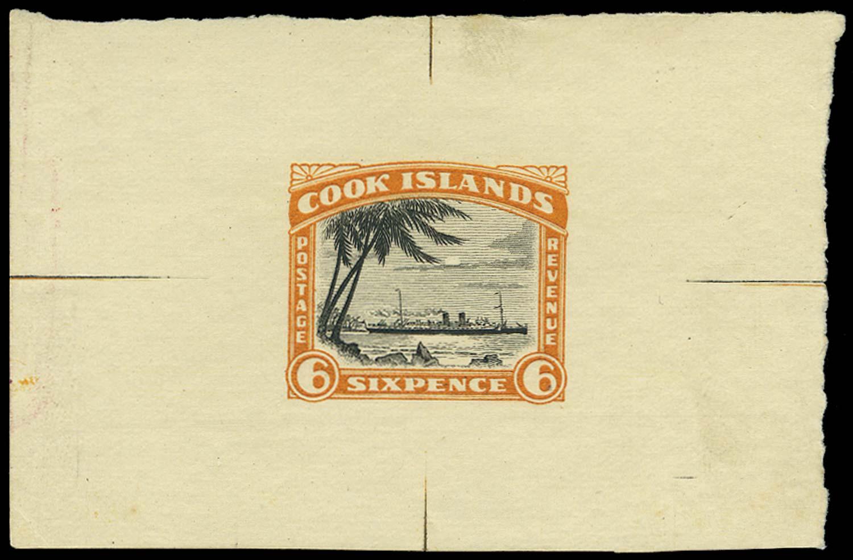 COOK ISLANDS 1932  SG104 Proof