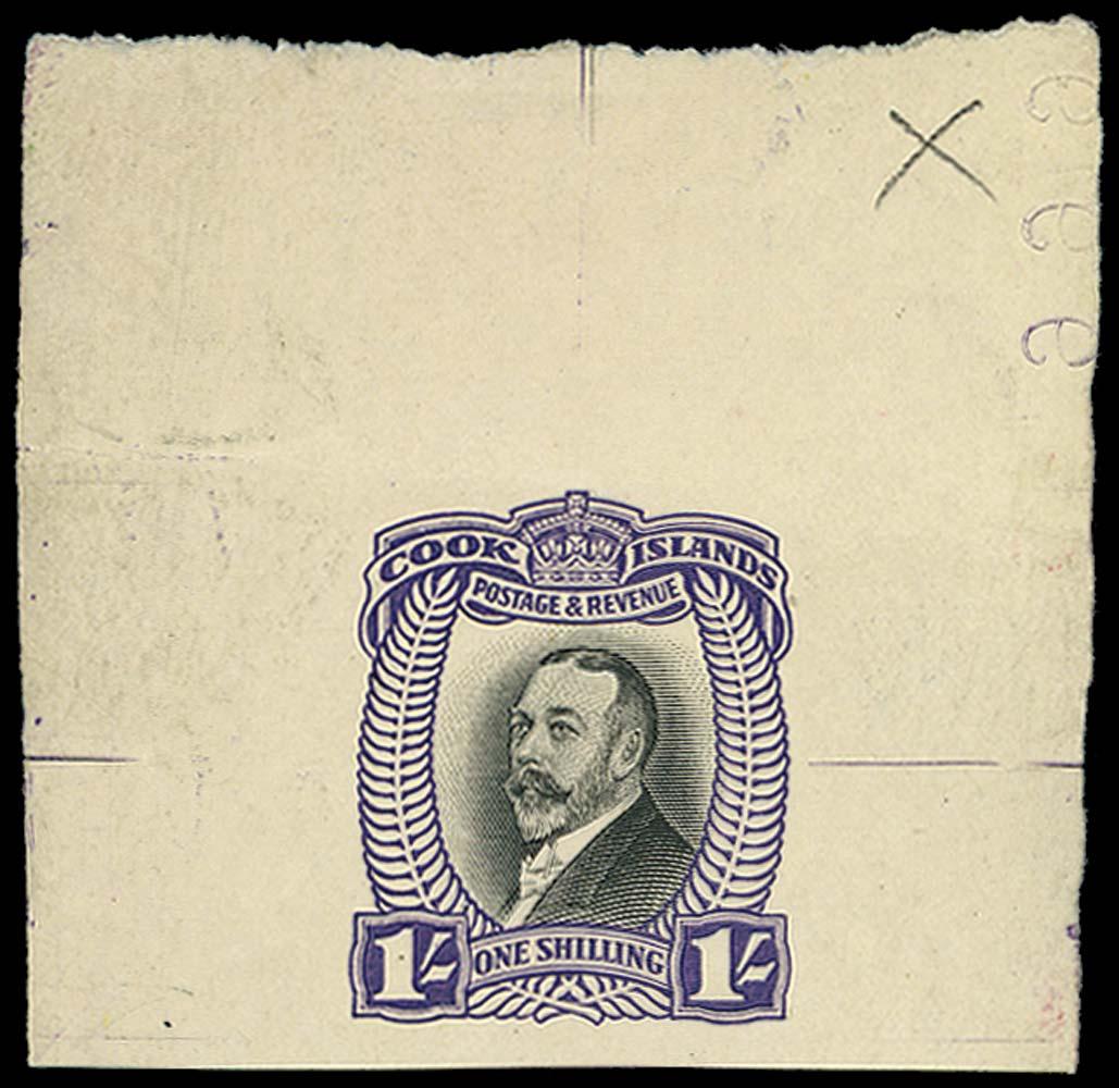 COOK ISLANDS 1932  SG105 Proof