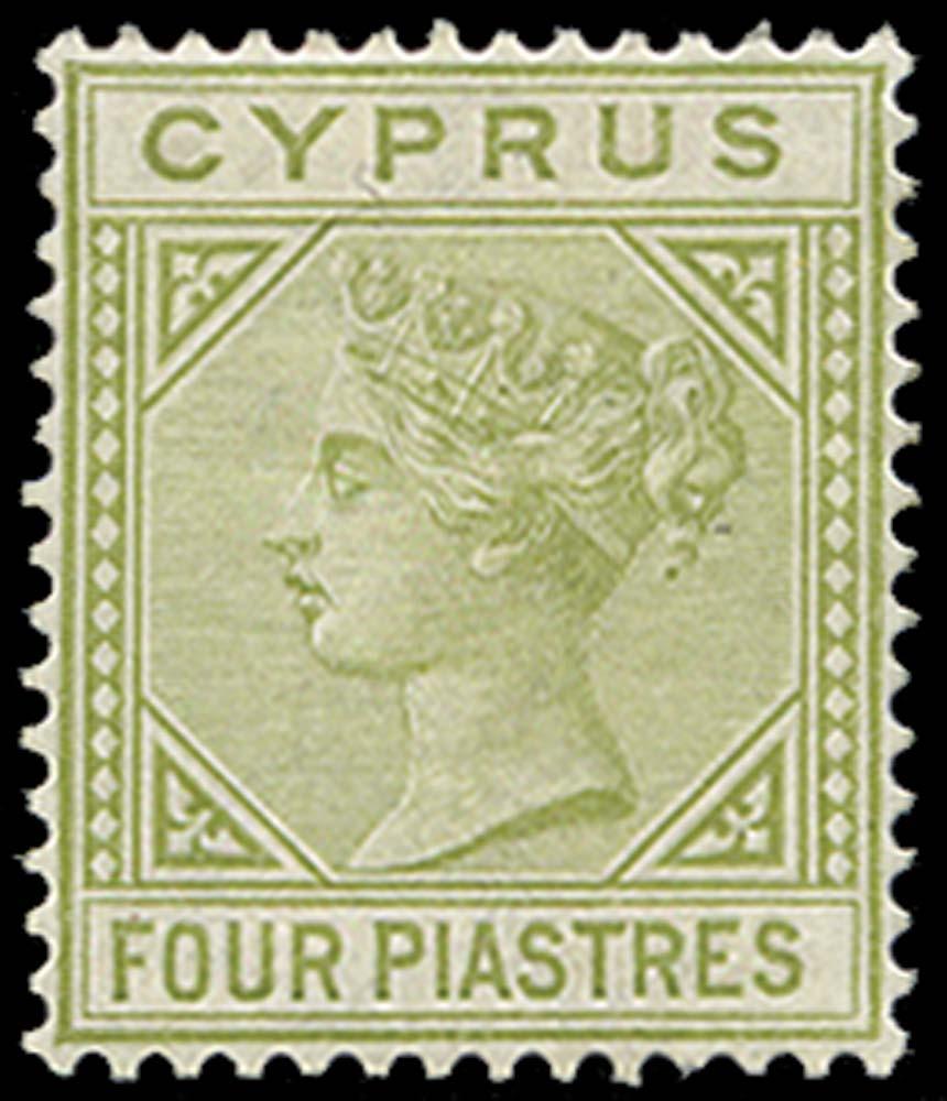CYPRUS 1881  SG14 Mint