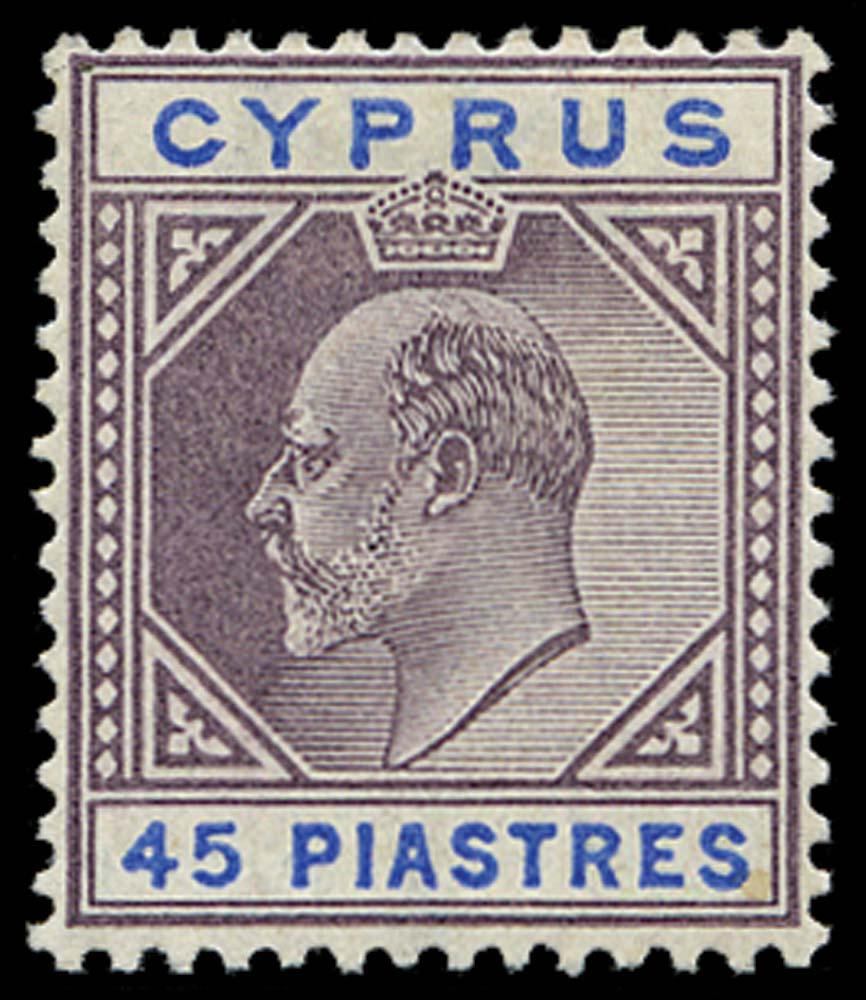 CYPRUS 1902  SG59 Mint