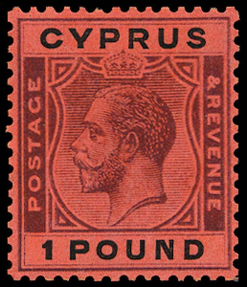 CYPRUS 1924  SG102 Mint