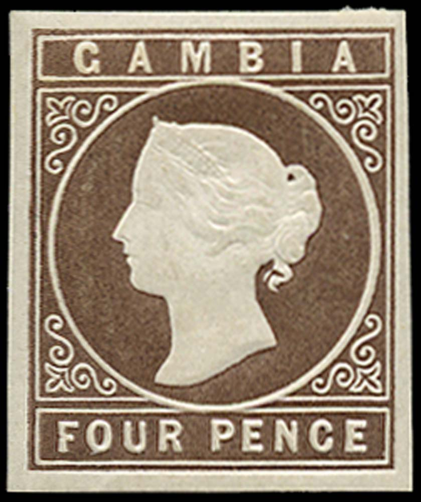 GAMBIA 1869  SG2 Mint