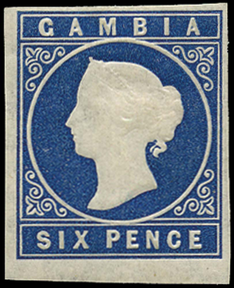 GAMBIA 1874  SG7 Mint