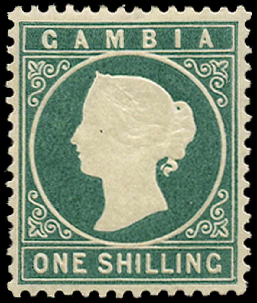 GAMBIA 1880  SG19B Mint