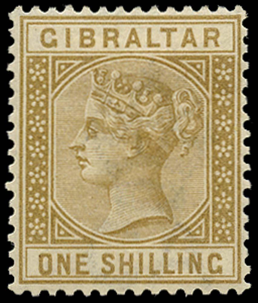 GIBRALTAR 1886  SG14 Mint