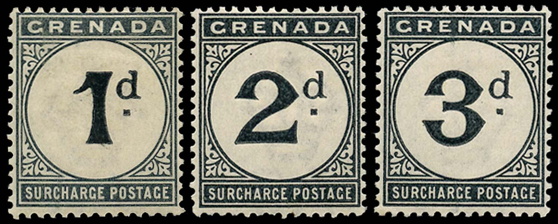 GRENADA 1892  SGD1/3 Mint