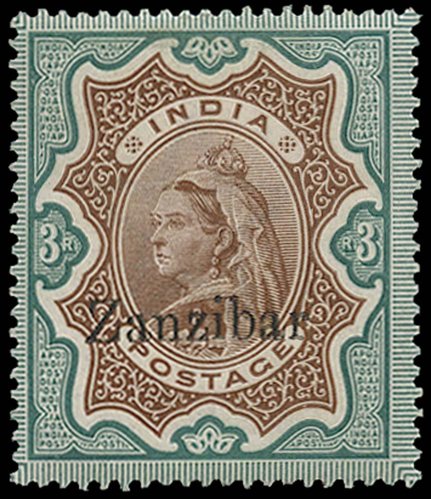 ZANZIBAR 1895  SG20C Mint
