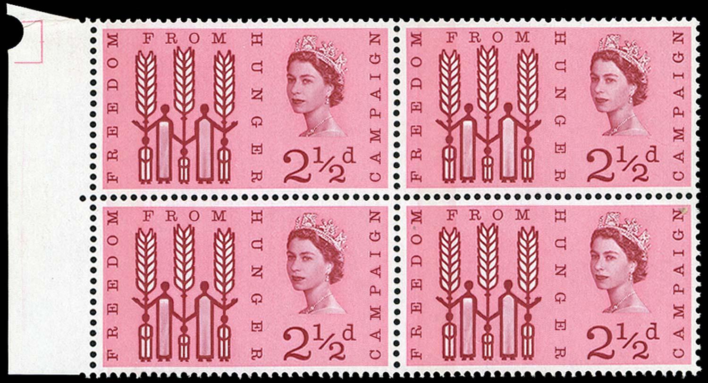 GB 1963  SG634var Mint
