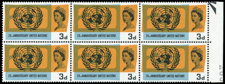 GB 1965  SG681a Mint