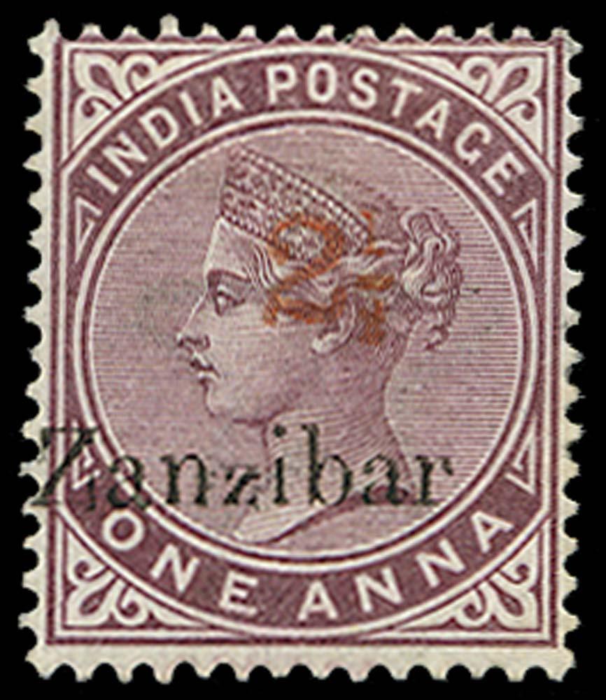ZANZIBAR 1898  SG33D Mint