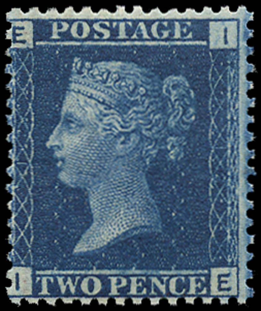 GB 1858  SG45 Pl.12 Mint U/M example