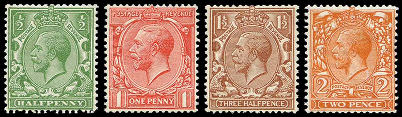 GB 1924  SG418/21b Mint