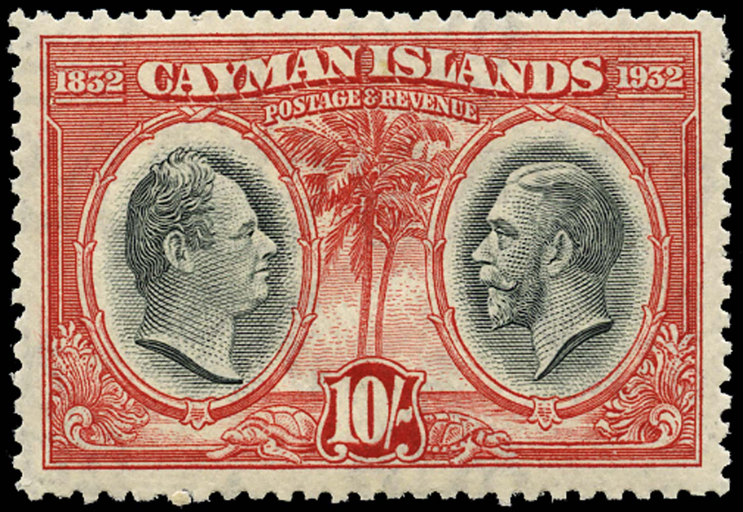 CAYMAN ISLANDS 1932  SG95 Mint