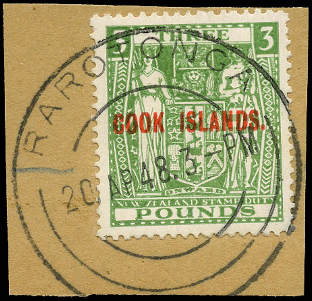 COOK ISLANDS 1936  SG123b Used