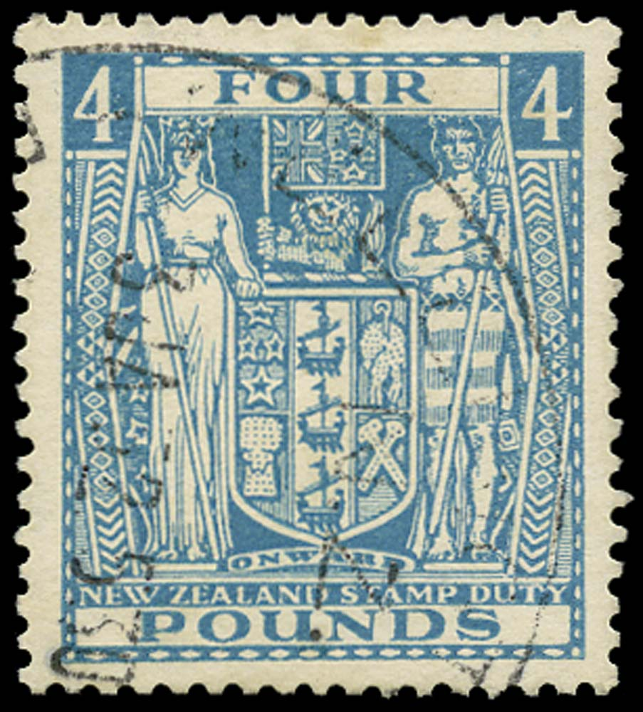 NEW ZEALAND 1931  SGF166 Postal Fiscal