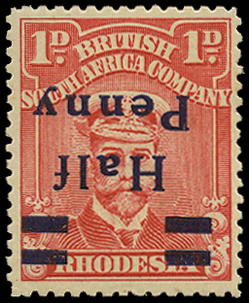 RHODESIA 1917  SG280a Mint