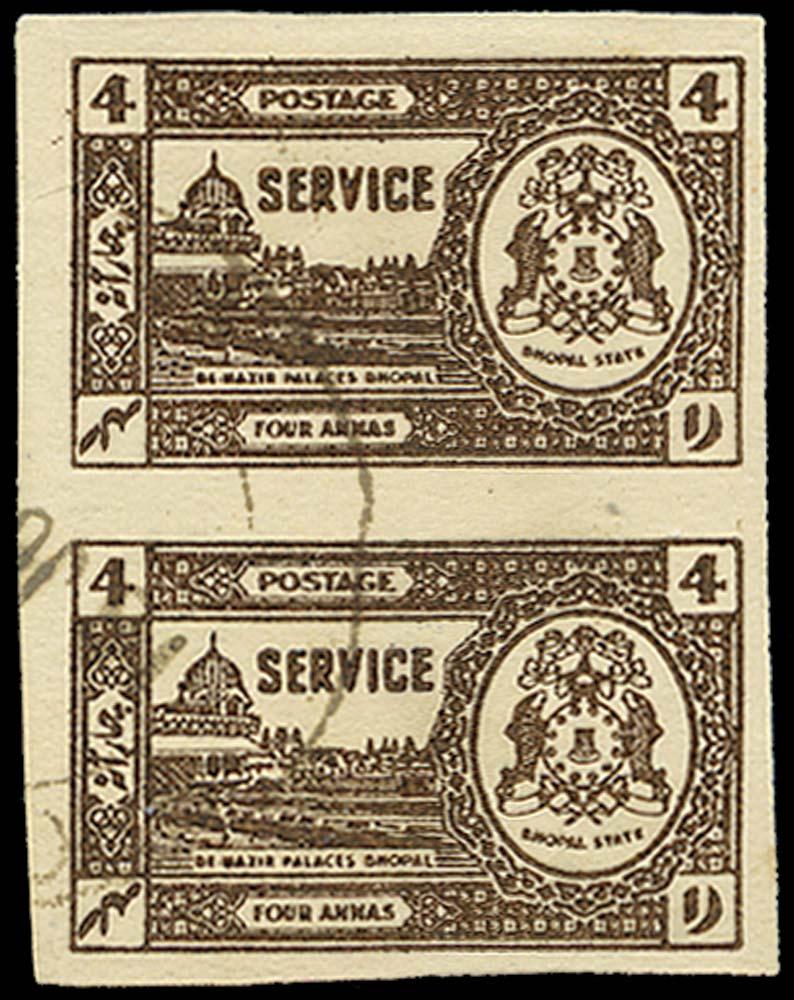 I.F.S. BHOPAL 1944  SGO349a Official