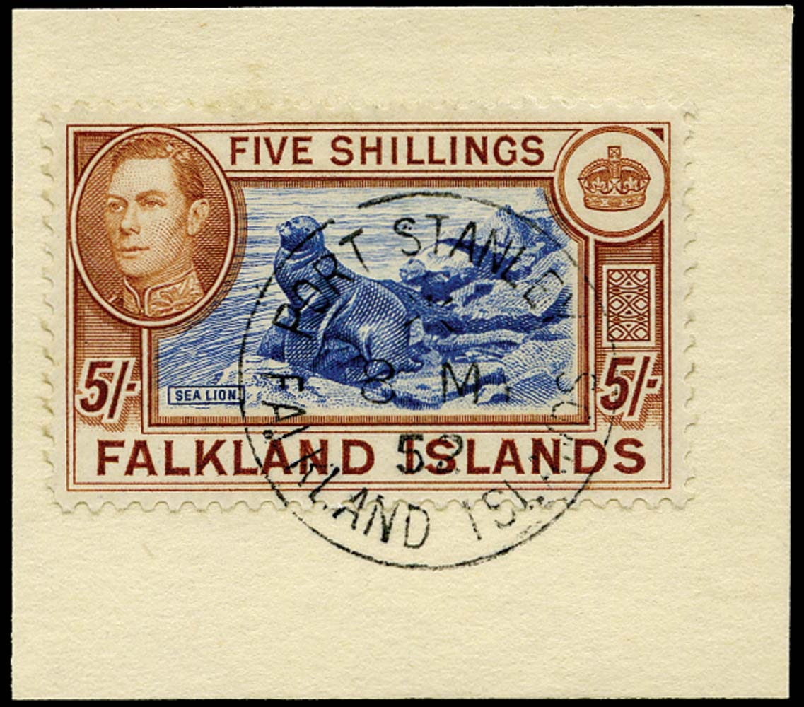 FALKLAND ISLANDS 1949  SG161d Used