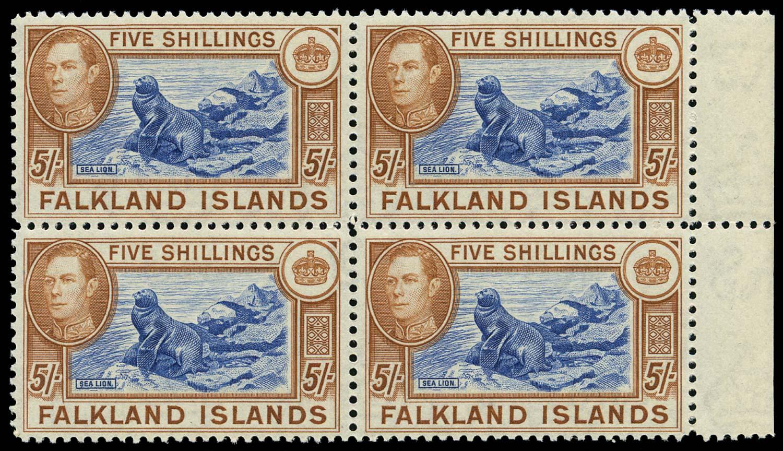 FALKLAND ISLANDS 1949  SG161d Mint