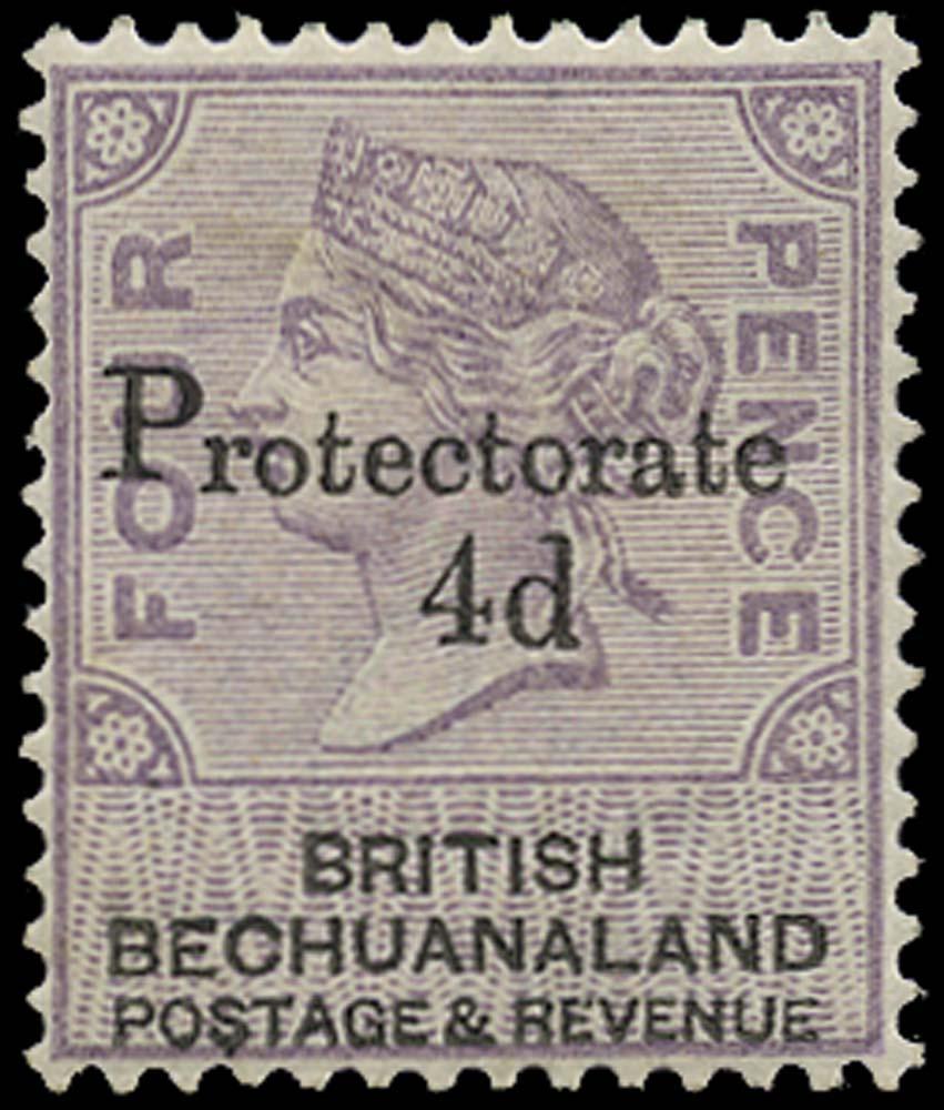 BECHUANALAND 1888  SG44 Mint